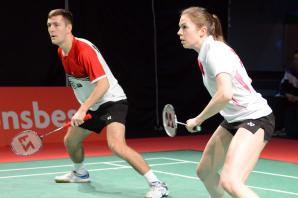 BADMINTON: Mairs makes last eight