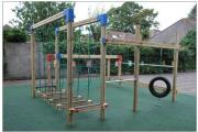 New play equipment will offer challenging fun